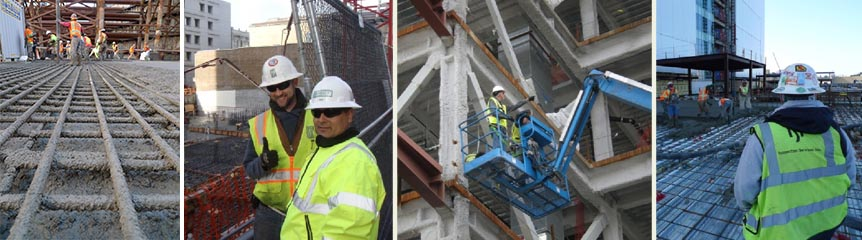 ISI provides a full spectrum of construction testing and inspection services