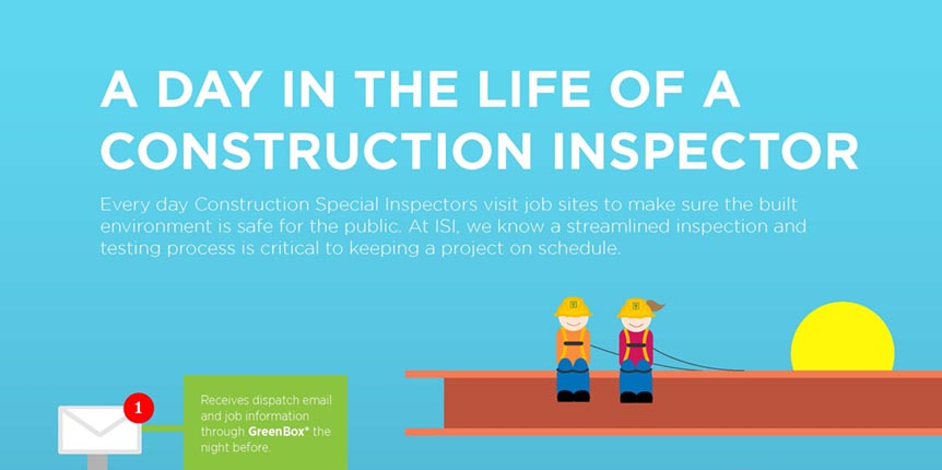 A day in the life of a construction inspector