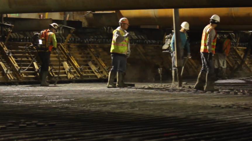 The Whole Nine Yards - Behind the Scenes at a Transbay Concrete Pour