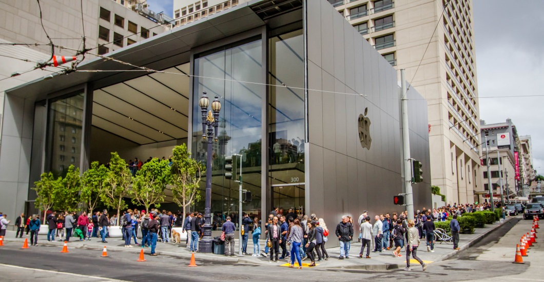 Apple Store Union Square San Francisco Inspection